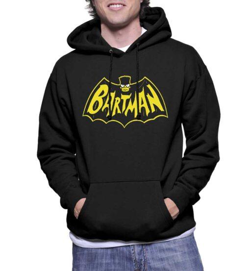 Custom Bartman Pullover Hoodie