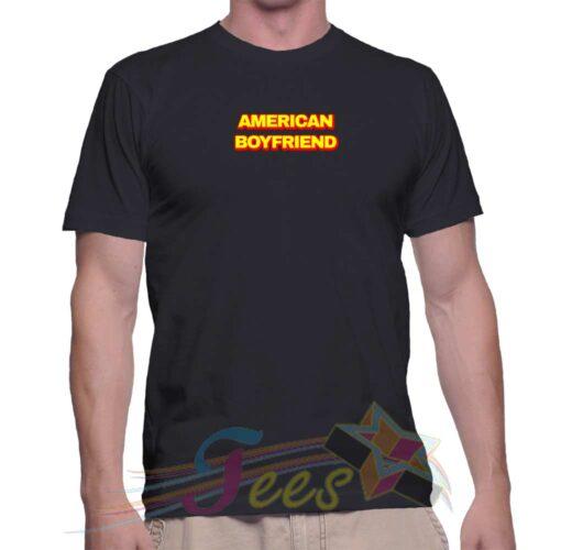 Best T Shirt American Boyfriend Unisex On Sale