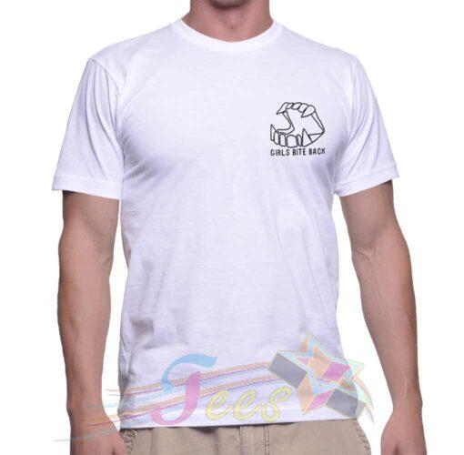Best T Shirt Girls Bite Back Unisex On Sale