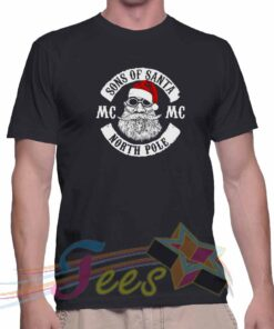 Best T Shirt Sons Of Santa North Pole Unisex On Sale
