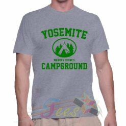 Best T Shirt Yosemite Campground Unisex On Sale