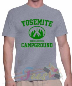 Best T Shirt Yosemite Campground Unisex On Sale