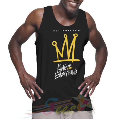 New Wiz Khalifa King Of Everything Unisex Tank Top