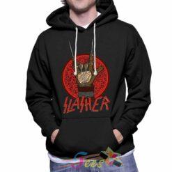 custom slasher pullover hoodie