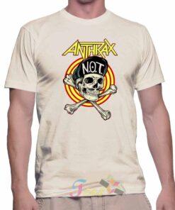 Best T Shirt Anthrax NOT Rock Music Unisex On Sale
