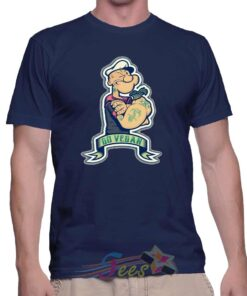 Best T Shirt Go Vegan Popeye Sailorman Unisex On Sale