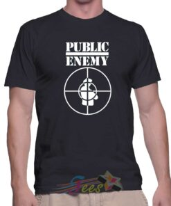 Best T Shirt Public Enemy Music Logo Unisex On Sale