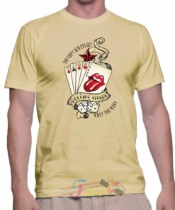 Best T Shirt Rolling Stones Joker Music Unisex On Sale