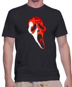 Best T Shirt Scream Mask Horror Movie Unisex On Sale
