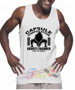 Cheap Graphic Tank Top Capsule Corporation Gym