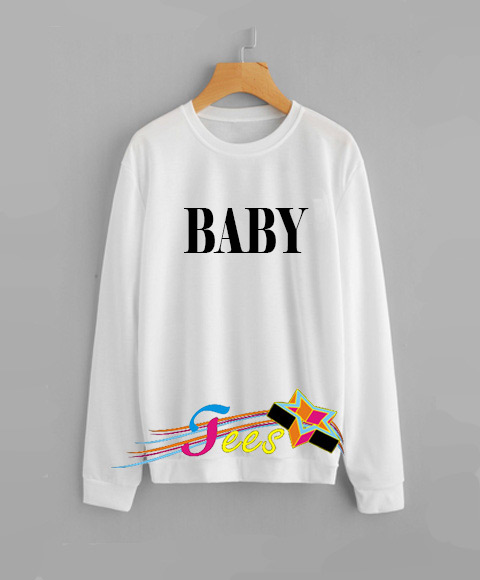 Cheap Graphic Baby Simple Sweatshirt