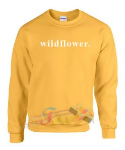 Cheap Graphic Wildflower Sweatshirt