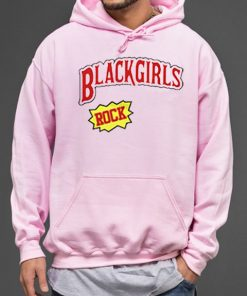 Cheap Graphic Black Girls Rock Pullover Hoodie