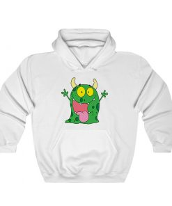 Funny Monster Cartoon Hoodie