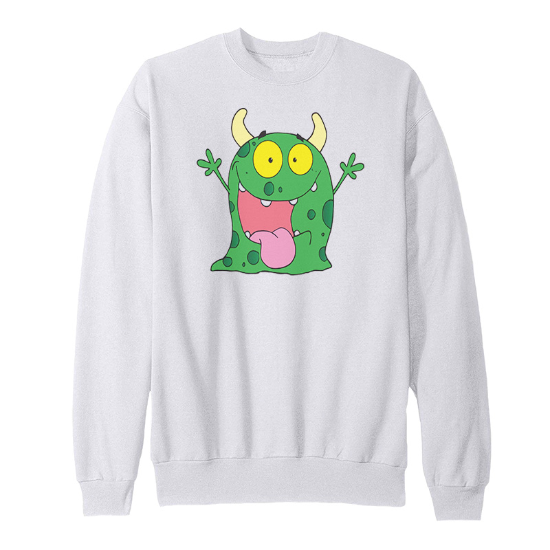 Funny Monster Cartoon Sweatshirt