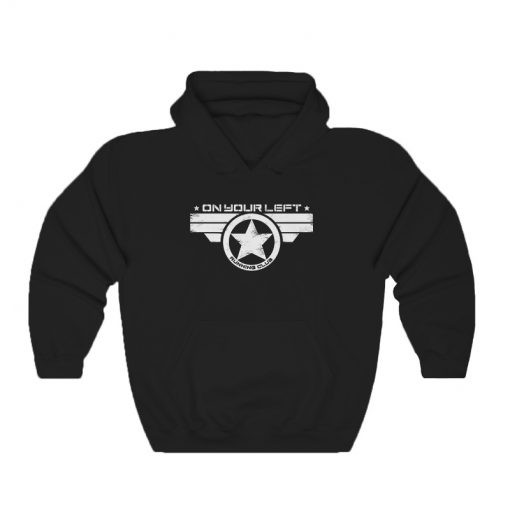 On Your Left Running Club Hoodie