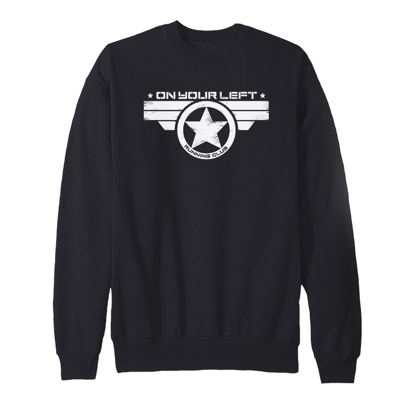 On Your Left Running Club Sweatshirt