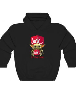Baby Yoda Hug Jack In The Box Hoodie