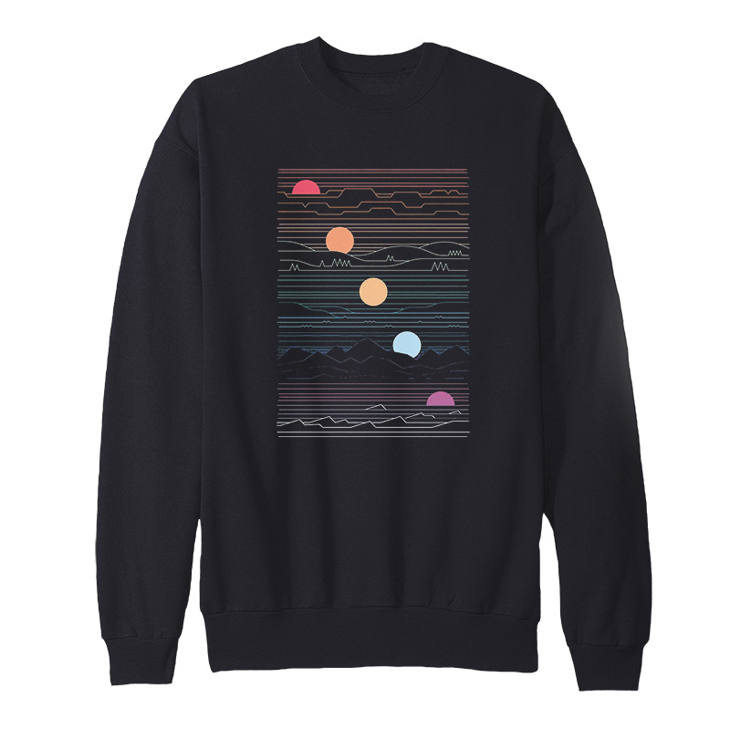 Many Lands Under One Sun Sweatshirt