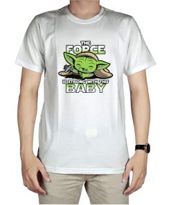 The Force Is Strong With Baby Yoda T-Shirt