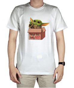 Wall Stickers Baby Yoda In A Box T-Shirt