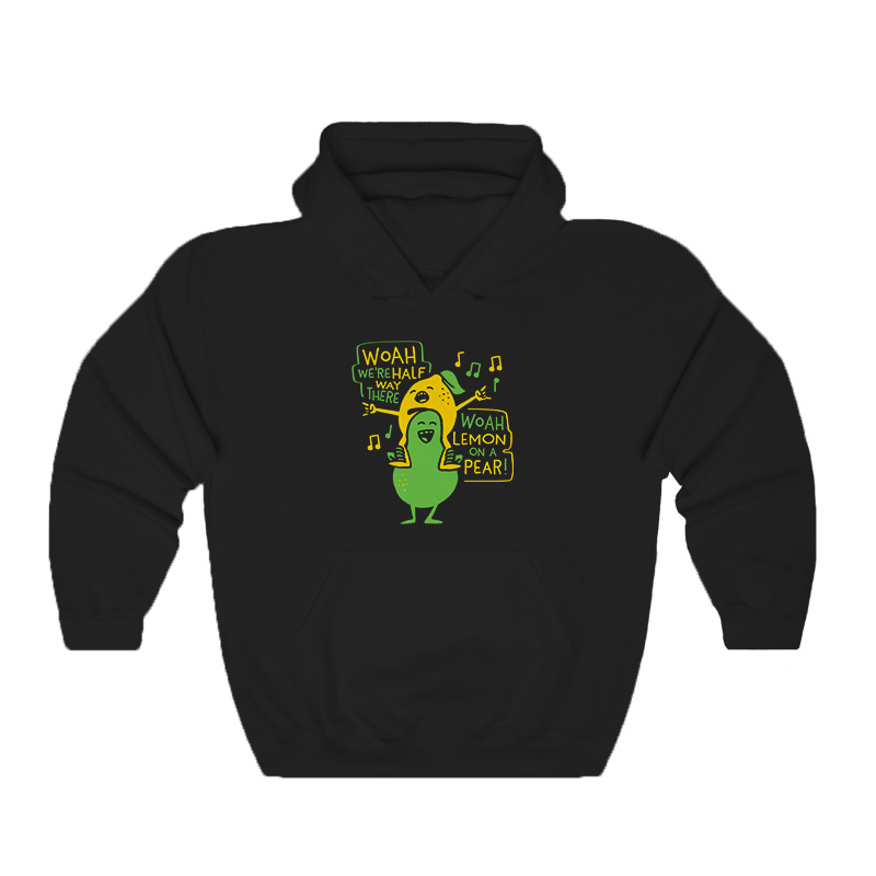 Lemon On A Pear Hoodie