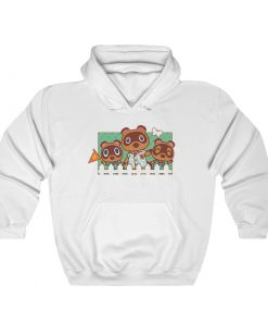 Animal Crossing Nook Family Hoodie