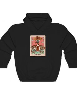 Animal Crossing The Devil Tarot Hoodie