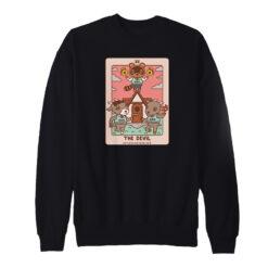 Animal Crossing The Devil Tarot Sweatshirt