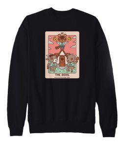 Animal Crossing The Devil Tarot Sweatshirt