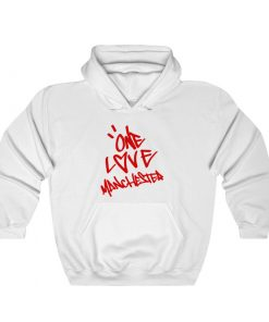 Ariana Grande One Love Manchester Hoodie