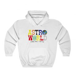 Astroword Look Mom I Can Fly Hoodie