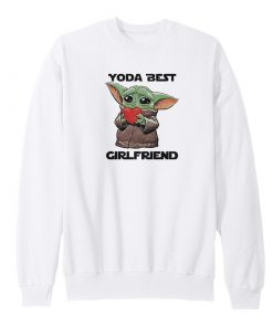 Baby Yoda Best Girlfriend Sweatshirt