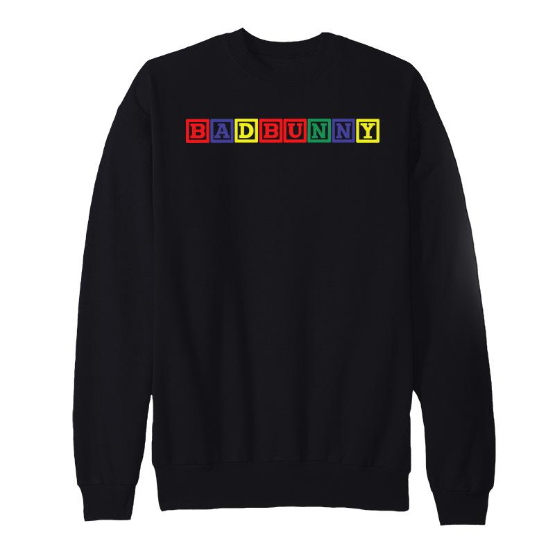 Bad Bunny Blocks Sweatshirt - Home