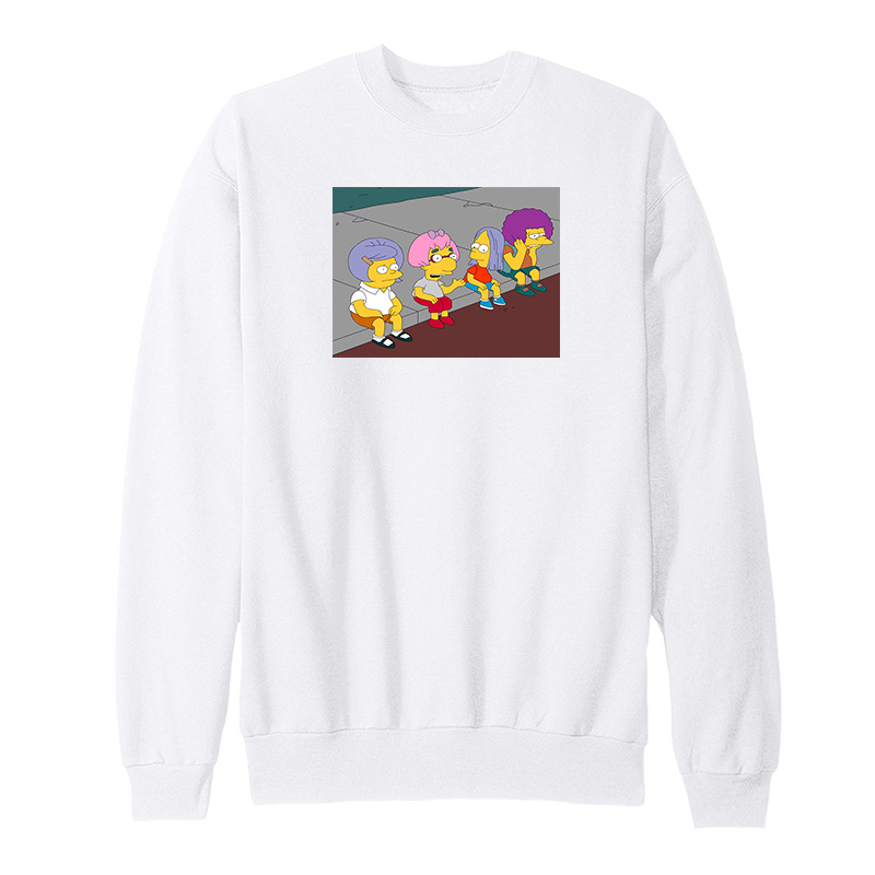 Bart On The Road Sweatshirt - Home