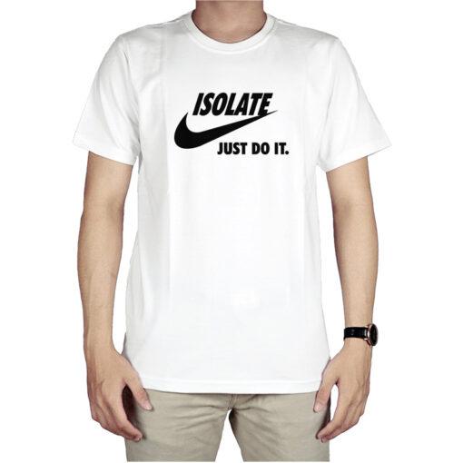 Isolate Nike Logo Parody T-Shirt