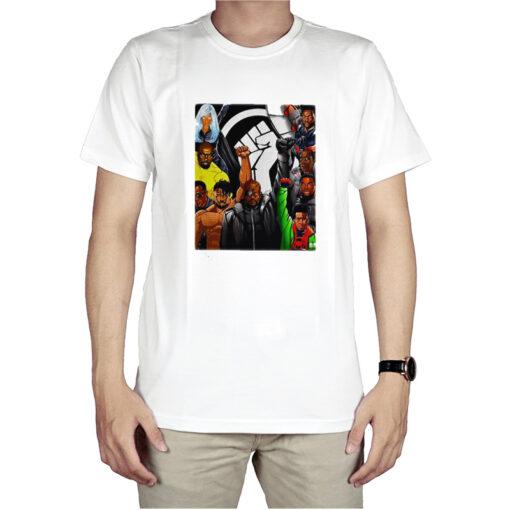 Official Heroes Black Lives Matter T-Shirt