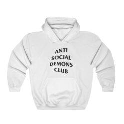 Anti Social Demons Club Hoodie