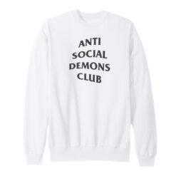 Anti Social Demons Club Sweatshirt