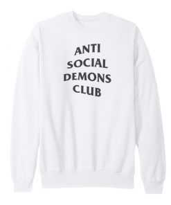 Anti Social Demons Club Sweatshirt
