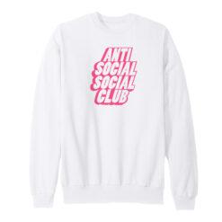 Anti Social Social Club Blocked Sweatshirt