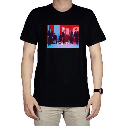 Monsta X 3RD Album T-Shirt Fatal Love For Unisex