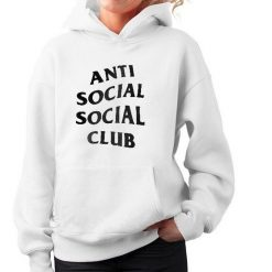 Anti Social Social Club Hoodie for Unisex