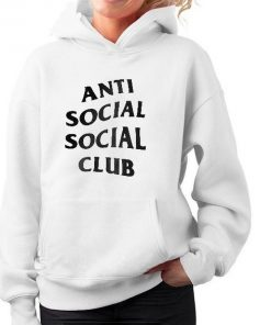 Anti Social Social Club Hoodie for Unisex