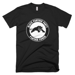 Black Panther Party Logo For Unisex Adult Shirt