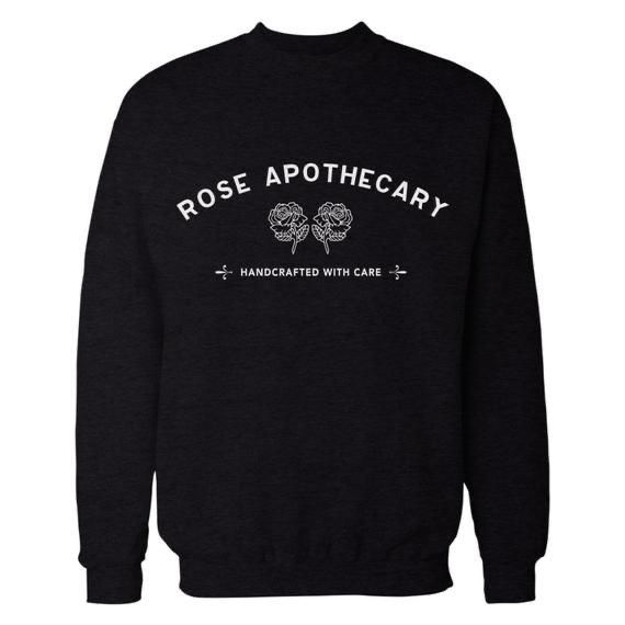 Rose Apothecary Sweatshirt Ready For Unisex - Home