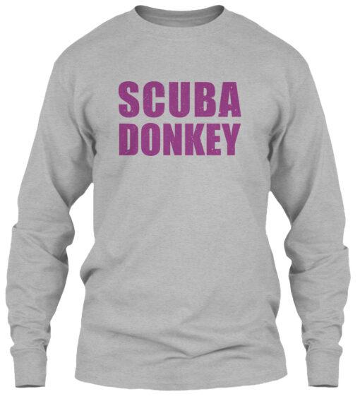 Scuba Donkey, Icarly Funny Quotes Sweatshirt Unisex