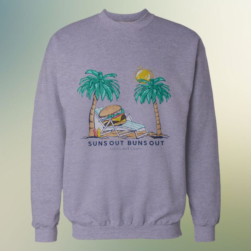 Suns Out Buns Out Funny Sweatshirt For Unisex 800x800 - Home