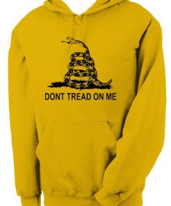 Don't Tread On Me Hoodie For Unisex