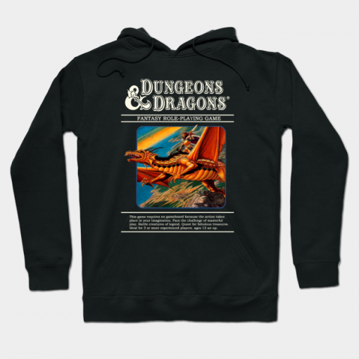 Dungeons And Dragons Hoodie For Unisex